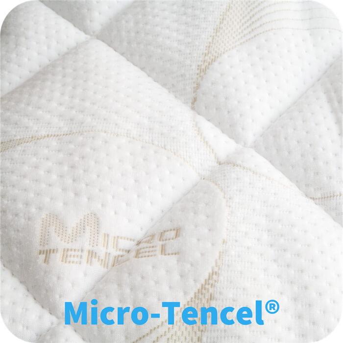 Wasserbettbezug-Micro-Tencel-beschriftet